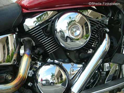 motorcyle - view 1