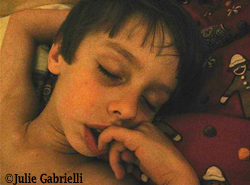 Julie Gabrielli's  photo of her son